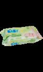 Lingettes bébé 100% cotton Carrefour Bio