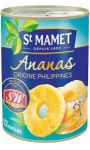 Fruits au sirop ananas tranches St Mamet