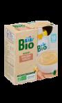 Dessert bébé lacté à la vanille bio Carrefour Baby