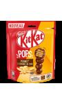 Pops chocolat lait graines de chia ou chocolat lait noisettes éclats de cacao Kit Kat