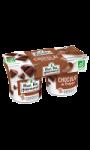 Yaourts fondant au chocolat Mon Bio gourmand