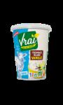 Fromage blanc vanille au lait de brebis Bio Vraí