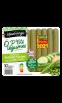 OP'tits légumes recette de saucisses fumées aux légumes verts sans antibiotiques Madrange