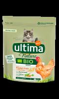 Croquettes pour chat au poulet Bio Ultima Nature