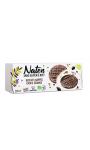 Biscuits nappés choco graines Naten