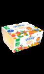 Yaourts brassés pêche & abricot Bio Teddi Bio