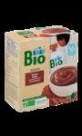 Dessert bébé lacté au chocolat bio Carrefour Baby