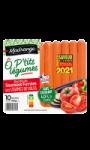 O P'tits légumes recette saucisses et légumes du soleil Madrange
