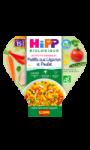 Repas pour bébé paëlla aux légumes et poulet Hipp Biologique