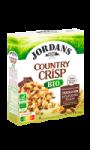 Céréales Bio complètes chocolat noir & fèves de cacao Country Crisp Jordans