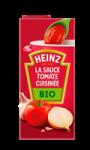 La sauce tomate cuisinée bio Heinz