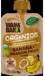 Banana & passion fruit purée Wanabana