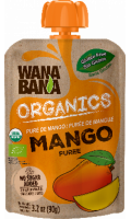 Puré Mango Organico Wanabana