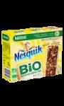Barres céréales complètes au chocolat Bio Nesquik