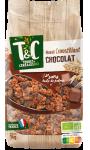 Muesli croustillant chocolat Terres & Céréales Bio