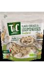 Flakes céréales et légumineuses nature Terres & Céréales Bio