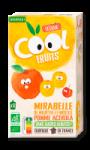 Compotes Mirabelle Pomme Acérola Cool Fruits Vitabio