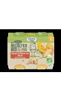 Plats de légumes Panais Potimarron Dinde petits morceaux Les Recoltes Bio Blédina