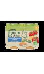 Plats de légumes Tomates Boulghour Saumon petits morceaux Les Recoltes Bio Blédina