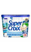 Lessive capsule bien-être pivoine sauvage & avoine Super Croix