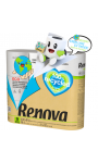 Papier toilette blanc 100% recycled Renova