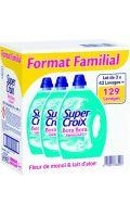 Lessive liquide fleur de monoï & lait d'aloé Bora Bora Super Croix