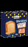 Biscottes sans sucres ajoutés blé complet Brioche Pasquier