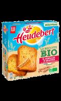 Biscottes Bio 3 céréales 3 graines Heudebert