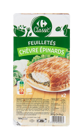 Feuilletés Chèvre Épinard Carrefour Classic'