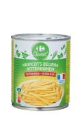 Haricots beurre extra-fins Carrefour Classic'