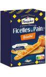 Ficelles de pain brioché Brioche Pasquier
