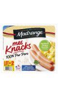 Saucisses 100% pur porc Madrange
