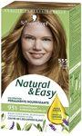 Natural & easy coloration permanente nourrissante 555 blond miel Schwarzkopf