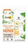 Baume Lèvres Nourrissant Parfum Monoï Lovea