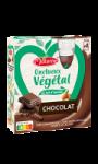 Crème dessert au chocolat en gourde Onctueux & Végétal Materne