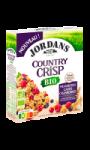 Céréales petit-déjeuner country crisp framboises cassis cranberries Bio Jordans