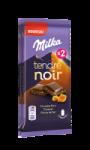 Chocolat tendre noir au caramel Milka