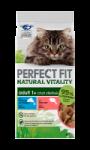 Sachets fraîcheur natural vitality poisson pour chat adulte stérilisé Perfect Fit
