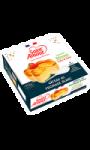 Gâteau au fromage blanc légèrement citronné & coulis fraise Saint Amour