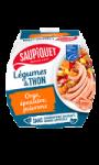 Légumes et thon à l'orge, à l'épautre et aux poivrons Saupiquet