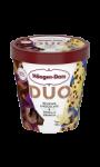 Glace duo belgian chocolate & vanilla crunch Häagen-Dazs