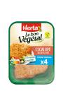 Le bon végétal escalope de soja et blé Herta