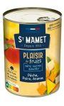 Plaisir de Fruits Pêche Poire Ananas St Mamet