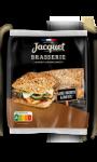 Pain burger brasserie à la farine complète sans sucres ajoutés Jacquet