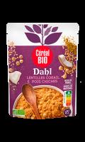 Dahl lentilles corail et pois chiches Bio Cereal Bio