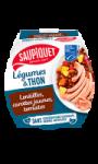 Salade aux lentilles & thon Saupiquet
