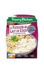 Plat cuisiné Poisson au Lait de Coco et duo de Riz Fleury Michon