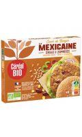 Coeur de burger à la mexicaine céréales et légumineuses Cereal Bio