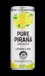 Bière aromatisé citron citron vert Hard Seltzer Pure Pirana