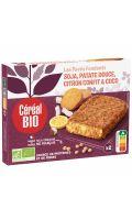Pavés fondants patate citron coco Cereal Bio